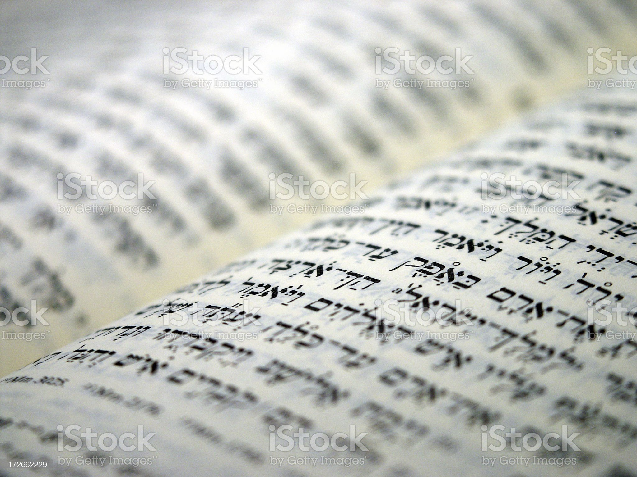 Hebrew Scriptures royalty-free stock photo