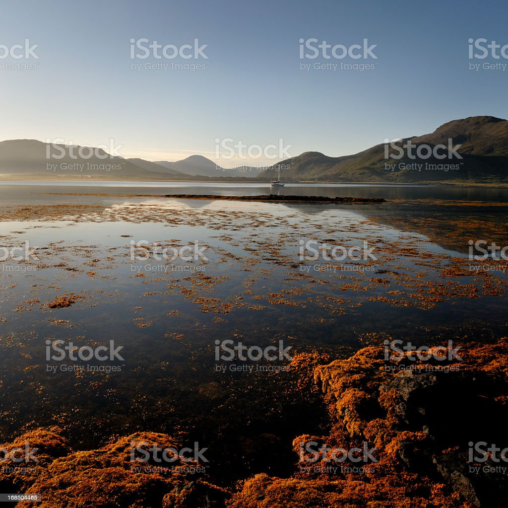 Hebridean Dawn royalty-free stock photo