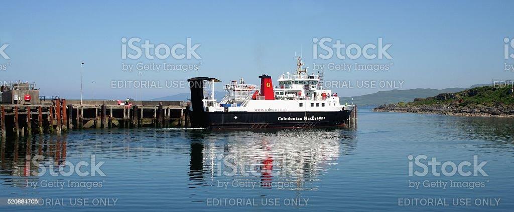 Hebrides islands ferry stock photo