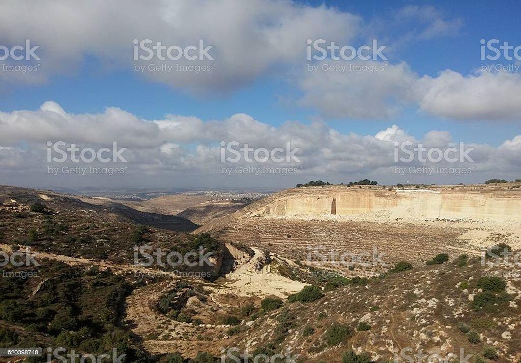 Hebron Palestine stock photo