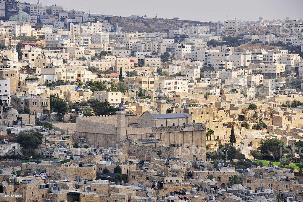 Hebron. stock photo