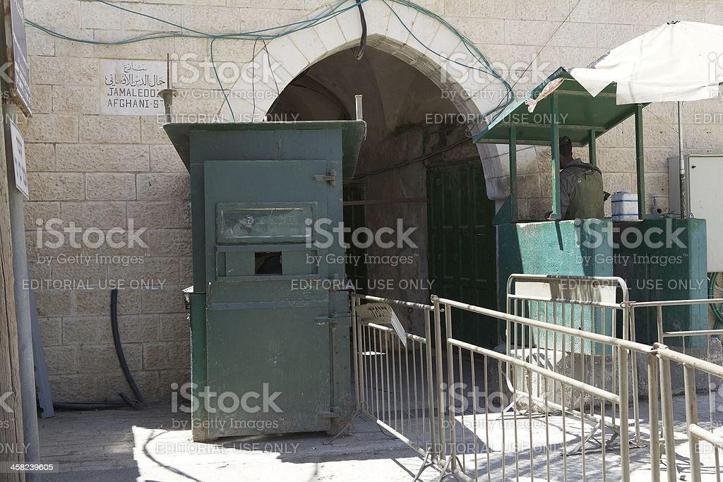 Hebron royalty-free stock photo