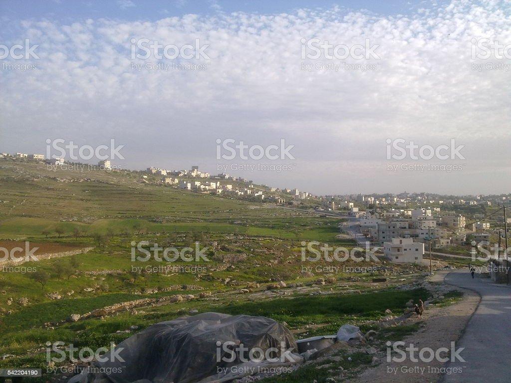 Hebron-Yatta-Palestine stock photo