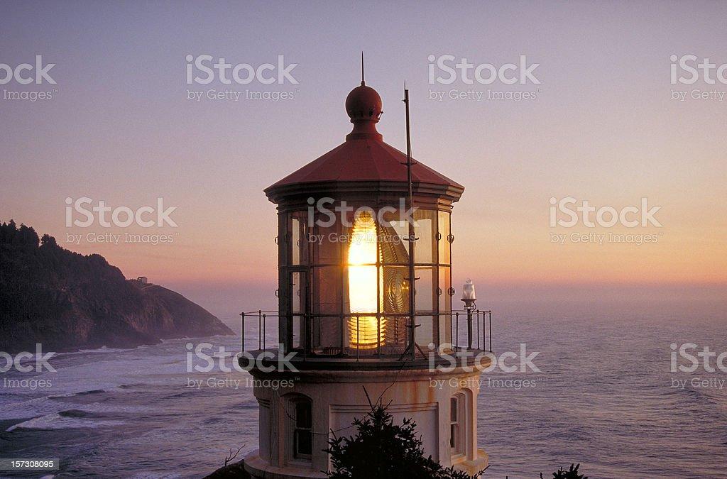Heceta Head Lighthouse royalty-free stock photo
