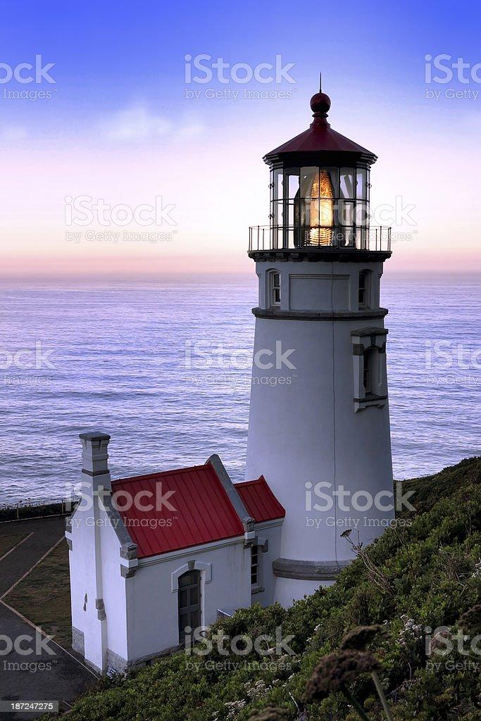 Heceta Head Lighthouse stock photo