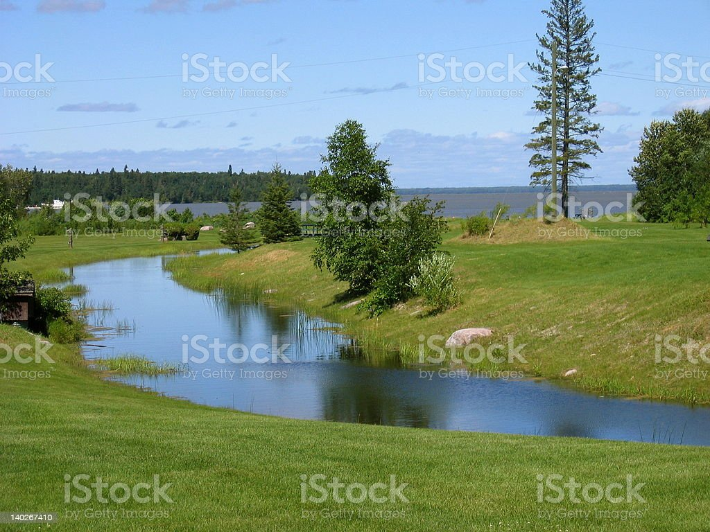 Hecla Island stock photo