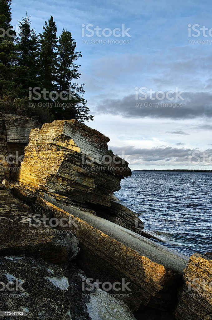 Hecla Provincial Park stock photo
