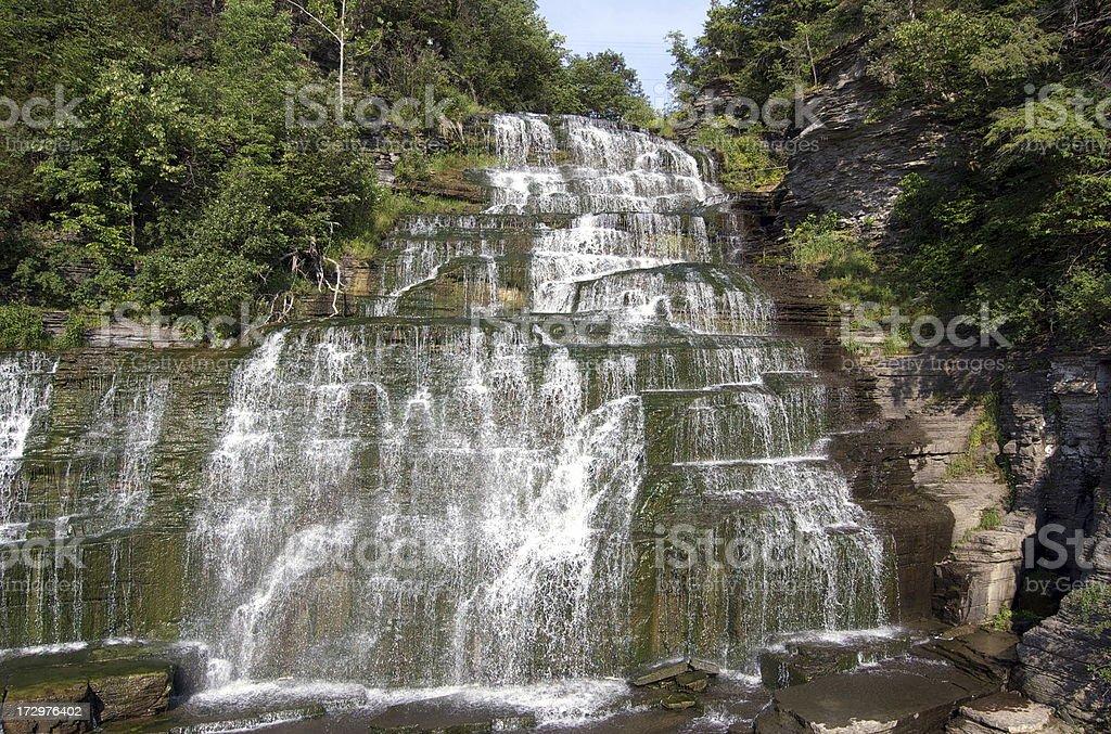 Hector Falls stock photo