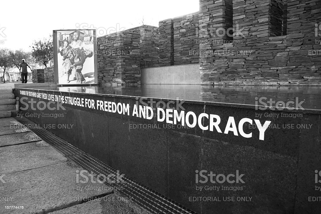 Hector Pieterson Memorial in Soweto, South Africa stock photo