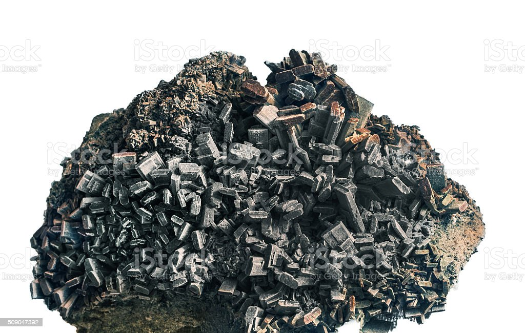 Hedenbergite stock photo