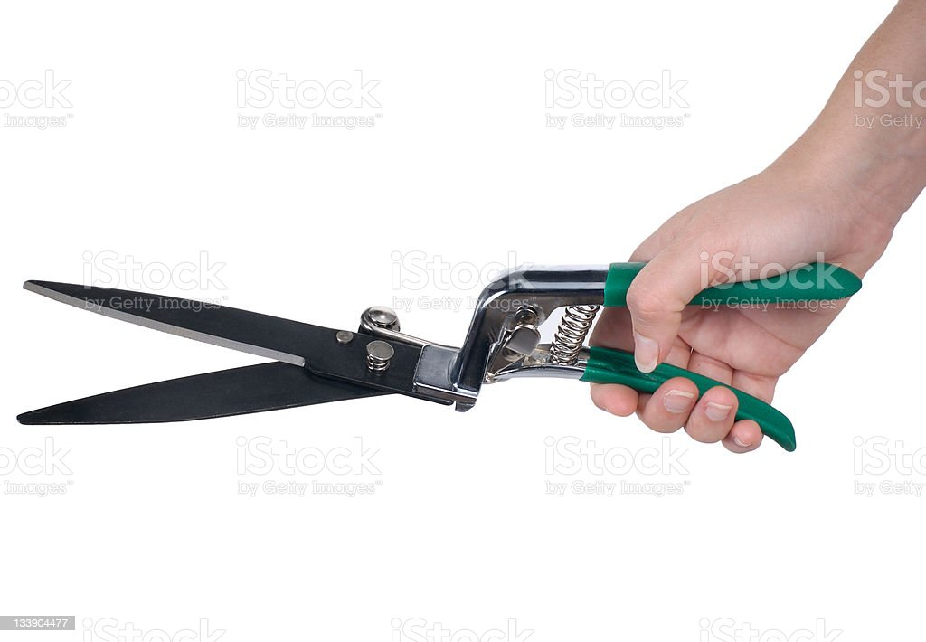 Hedge Clippers royalty-free stock photo