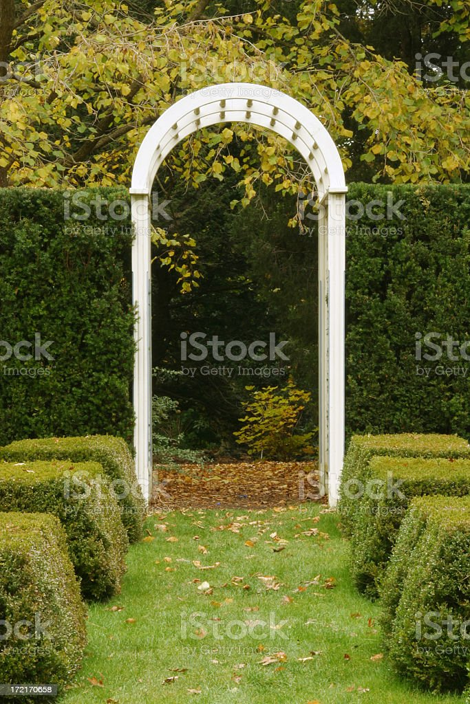 Hedge Gateway - Youngstown, Ohio royalty-free stock photo