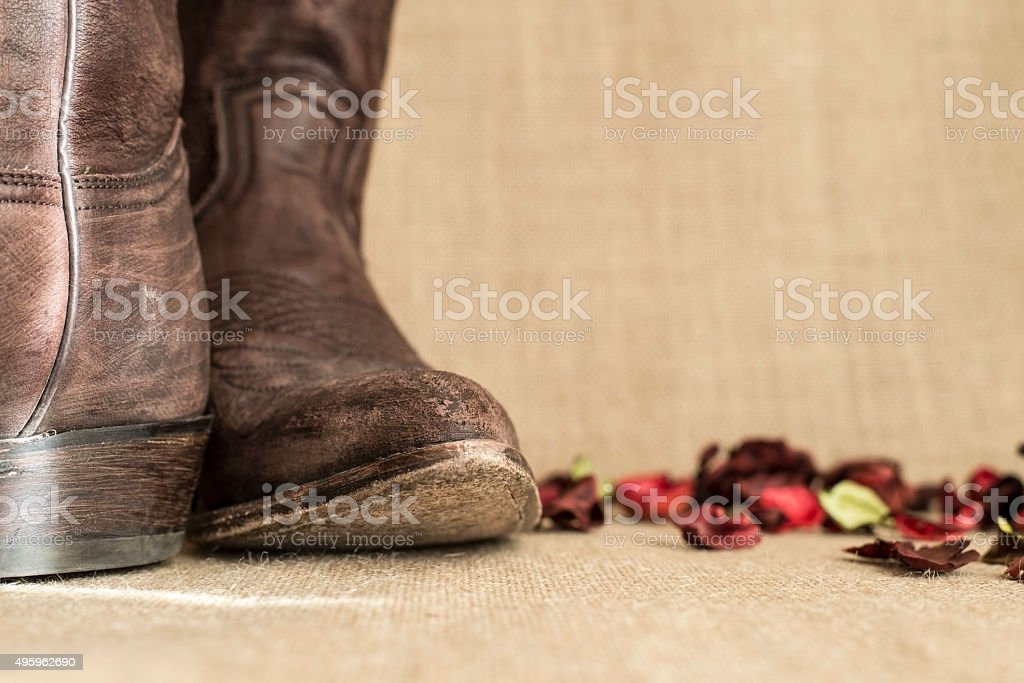 heel and toe stock photo
