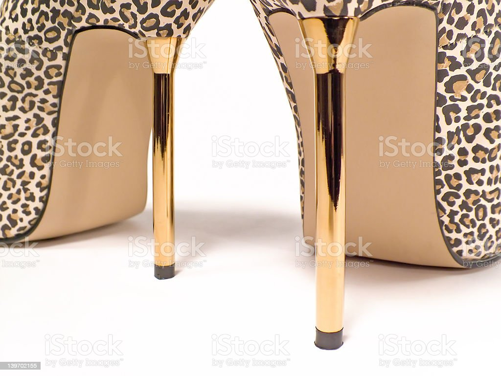 Heels Detail royalty-free stock photo