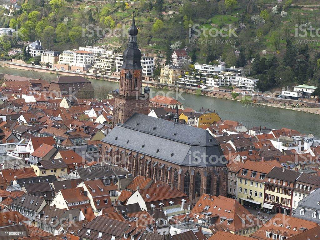 Heidelberg am Neckar royalty-free stock photo