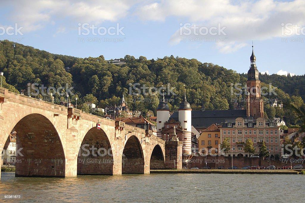 Heidelberg cityscape stock photo