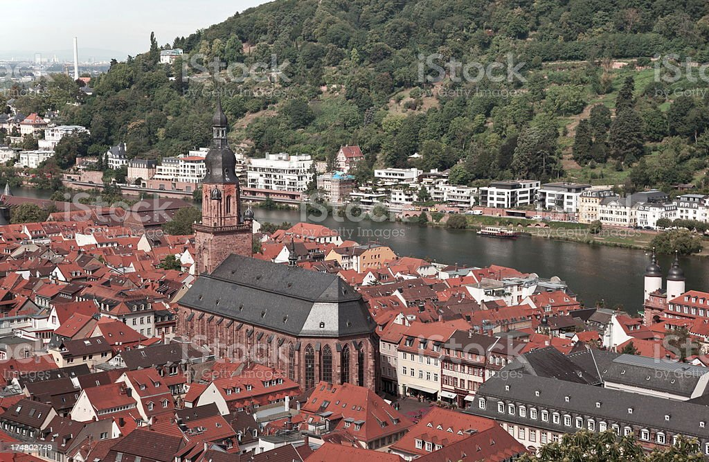 Heidelberg, Germany royalty-free stock photo