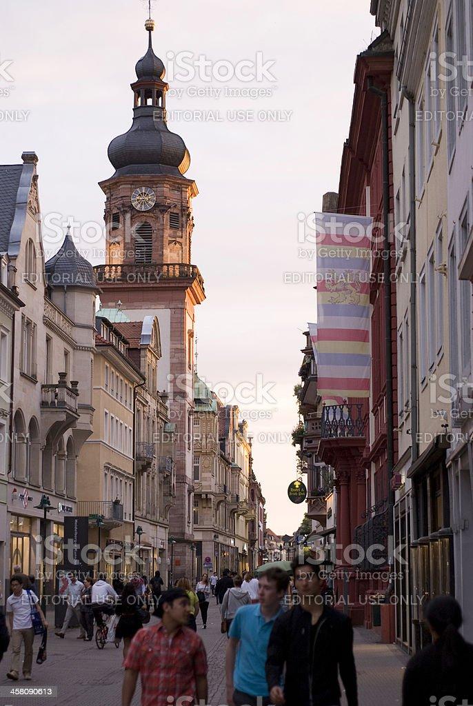 Heidelberg, Germany. royalty-free stock photo