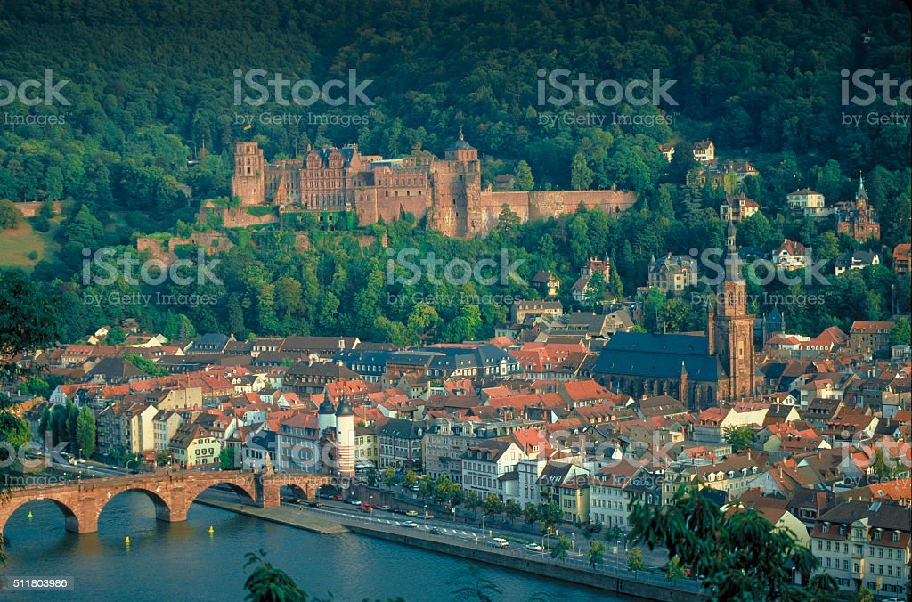 Heidelberg, Germany stock photo