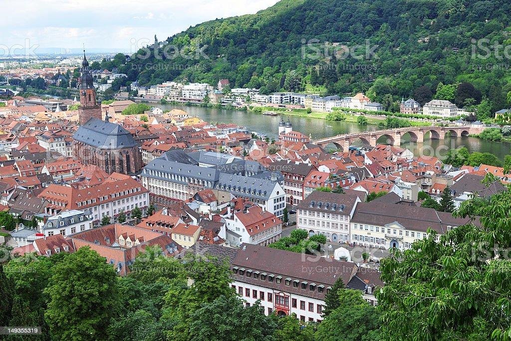 Heidelberg in Germany stock photo