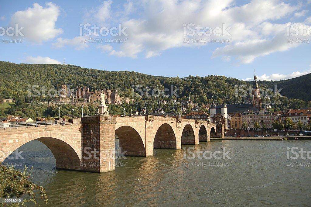 Heidelberg in Germany royalty-free stock photo