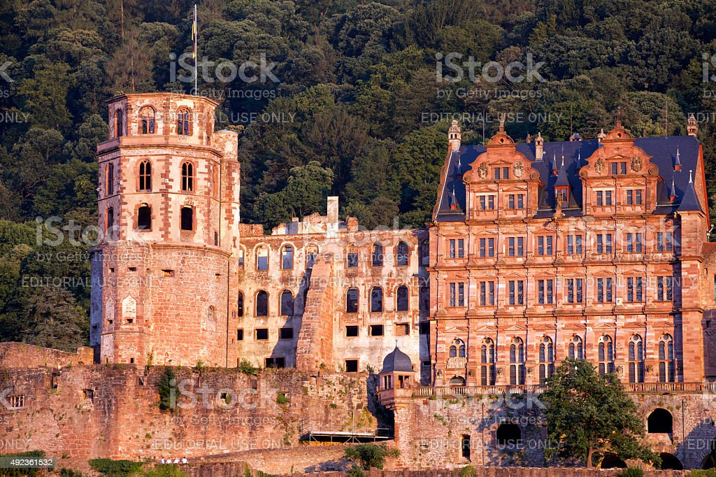 Heidelberg Palace stock photo