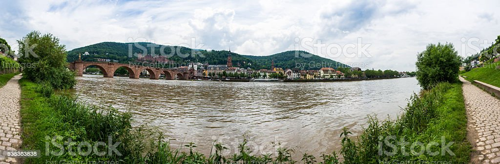 Heidelberg Panorama stock photo