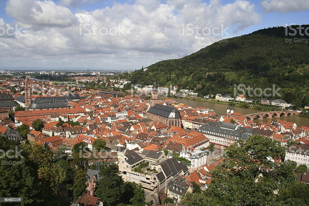 Heidelberg royalty-free stock photo