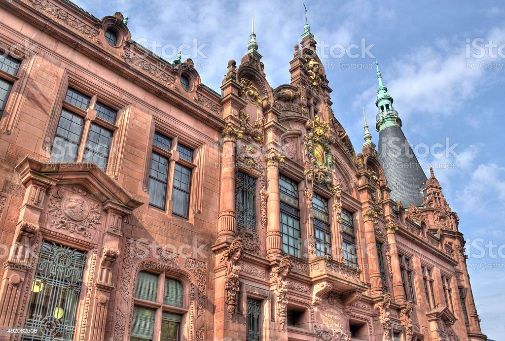 Heidelberg University, Germany stock photo