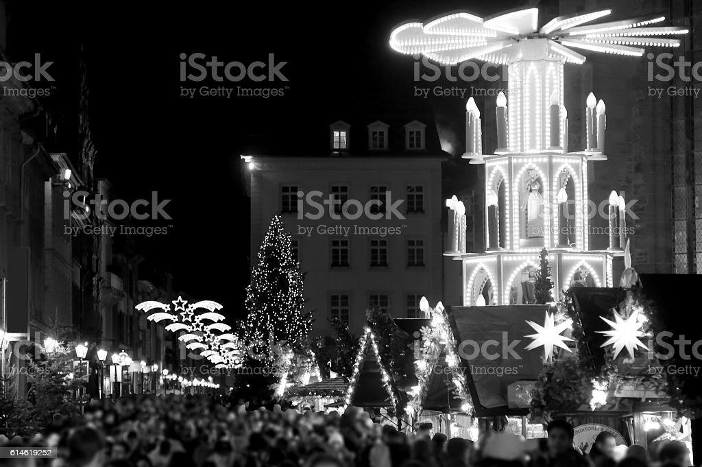 Heidelberg Xtmas stock photo