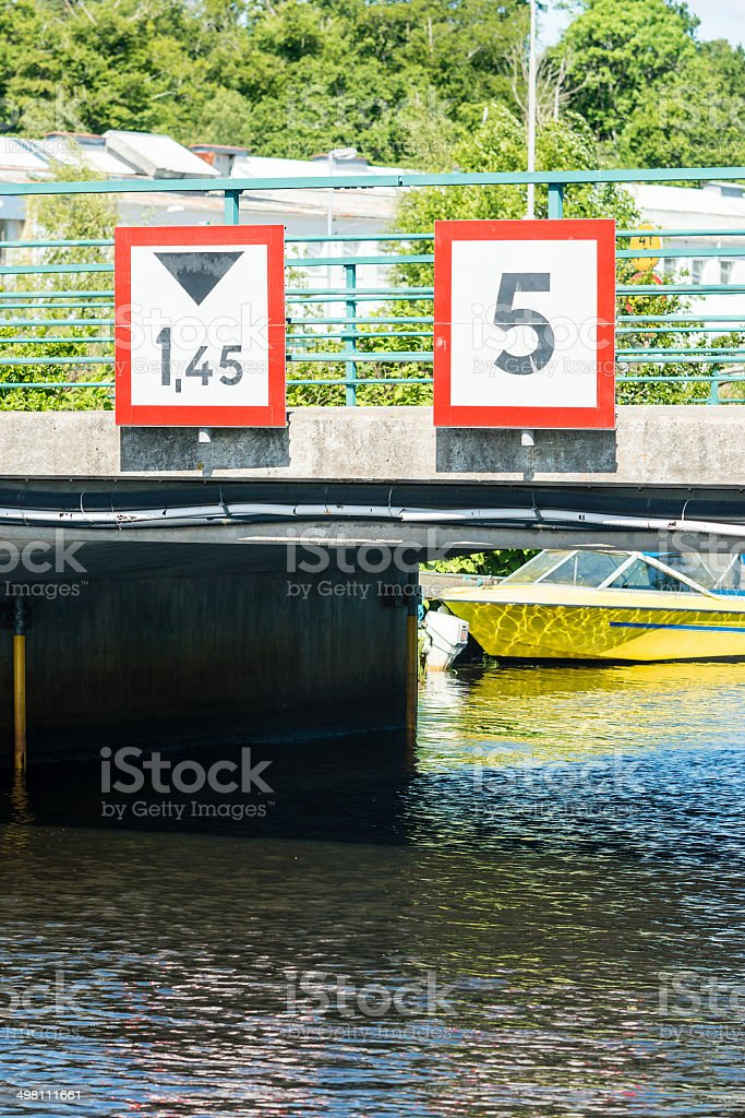Height and speed stock photo