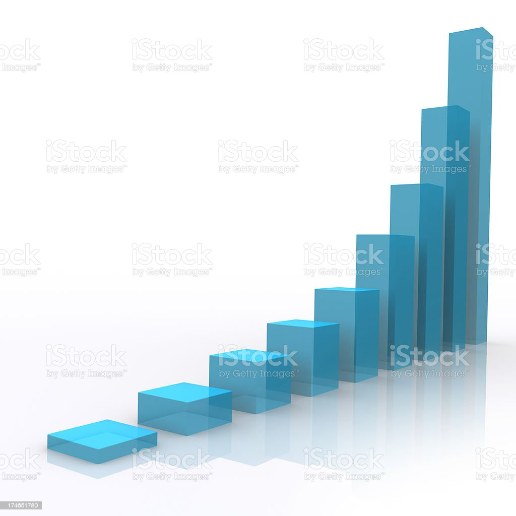 Height Chart - business concept stock photo