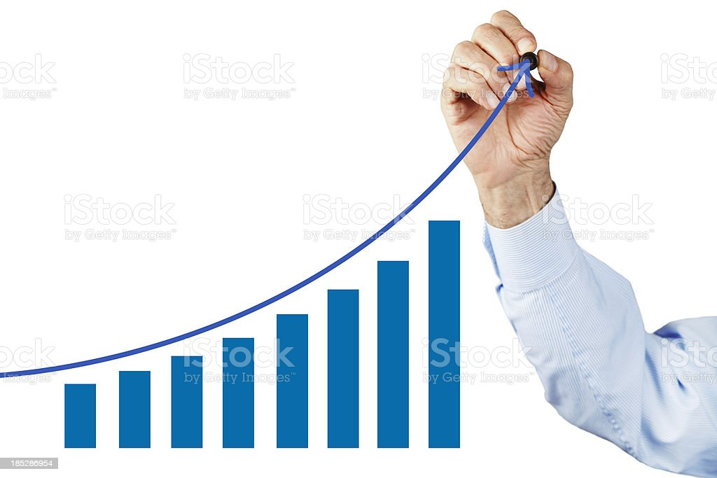Height Chart stock photo