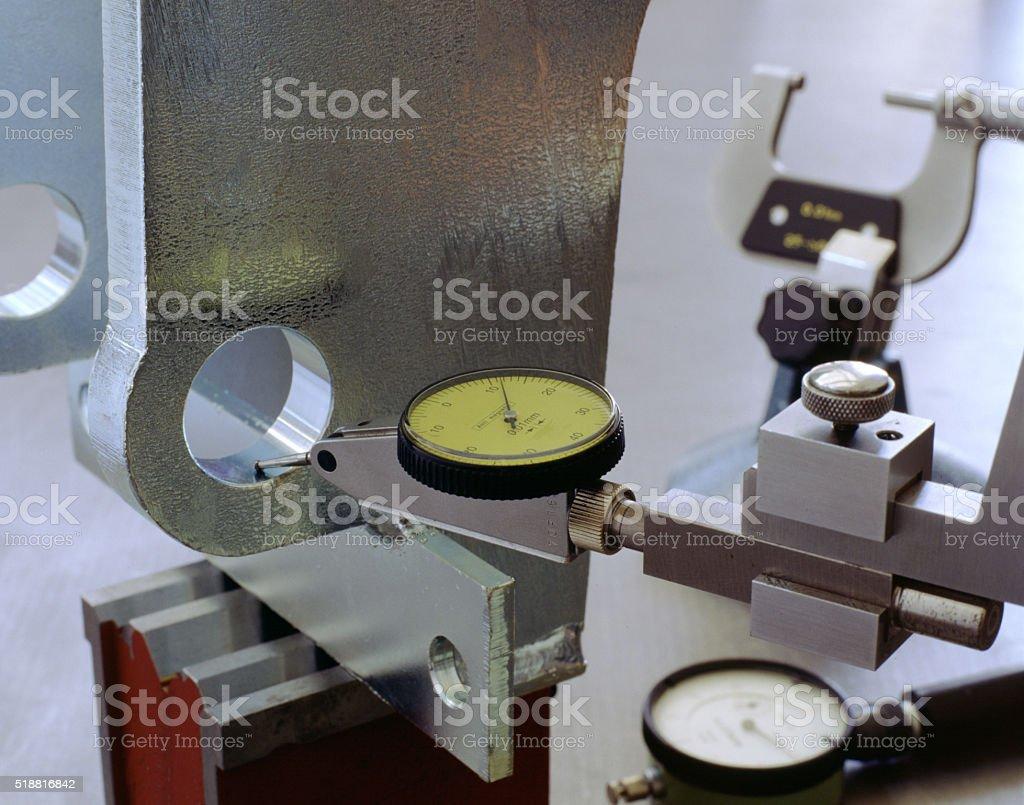 Height gauge. stock photo