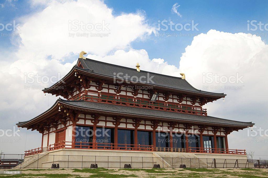 Heijō-kyō / World Heritage stock photo