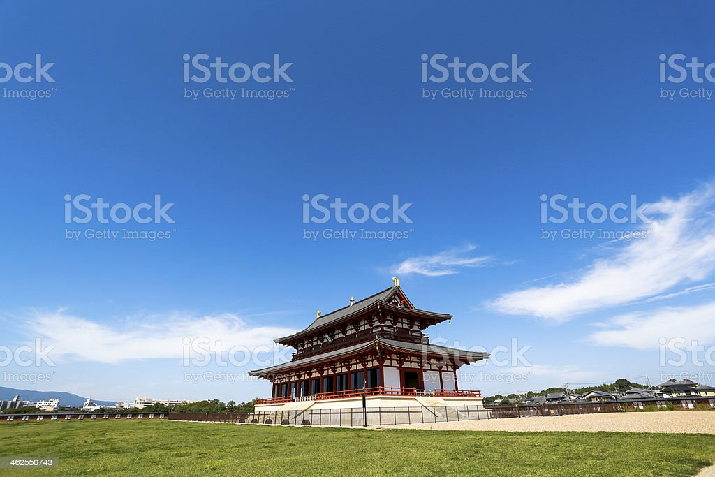 Heijo Palace stock photo