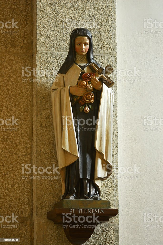 Heilige Theresia stock photo
