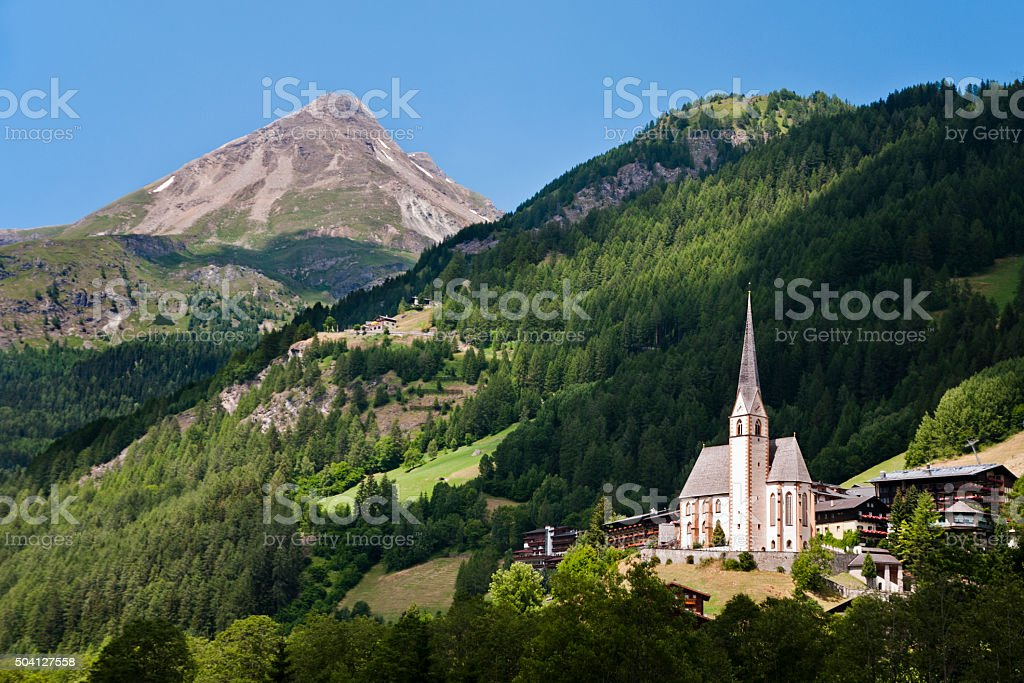 Heiligenblut - Austria stock photo