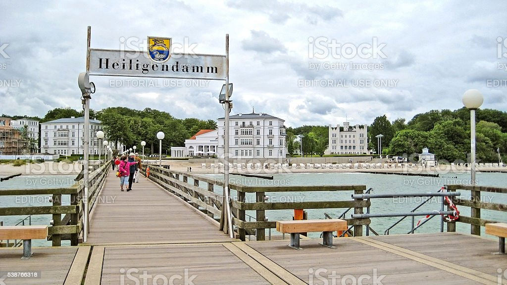 Heiligendamm, Baltic Sea stock photo