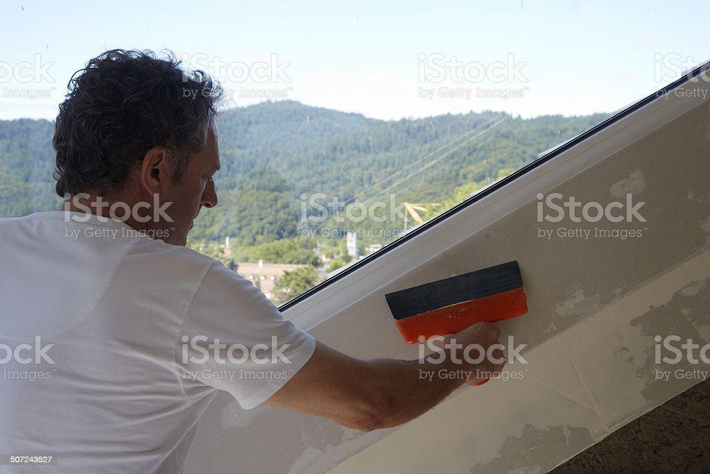 Heimwerker stock photo