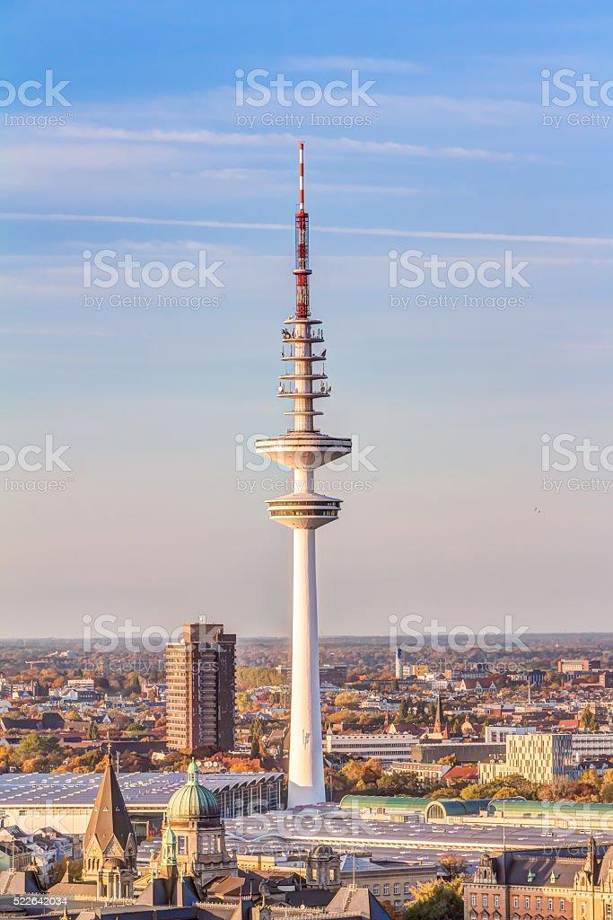 Heinrich Hertz tower stock photo