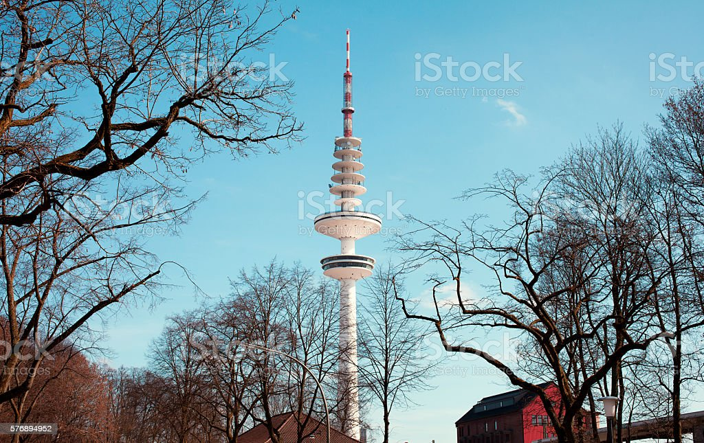 Heinrich Hertz Turm stock photo