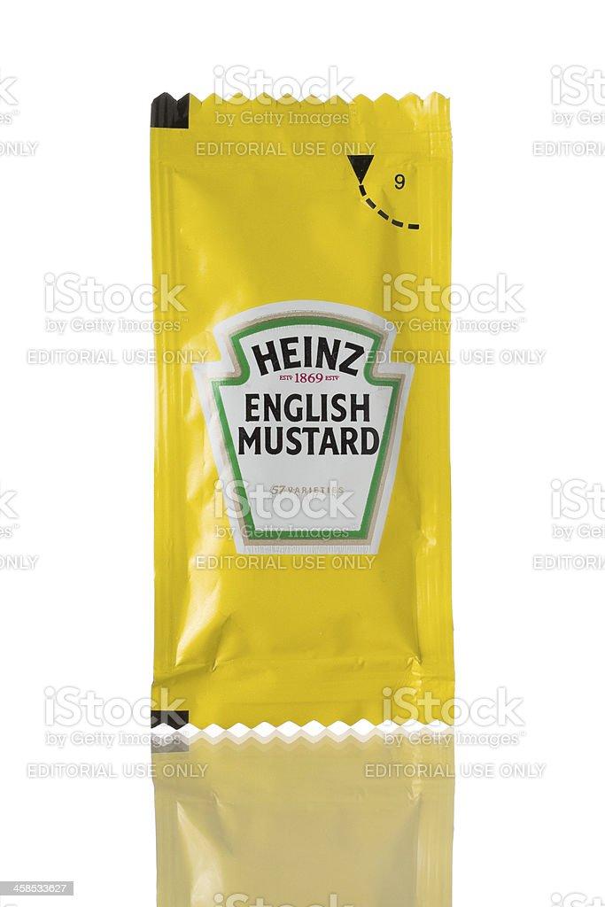 Heinz English Mustard royalty-free stock photo