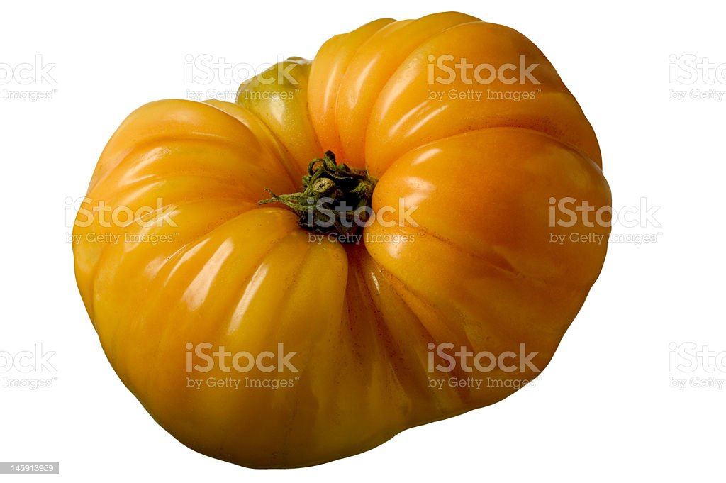 Heirloom Tomato - Food Elements royalty-free stock photo
