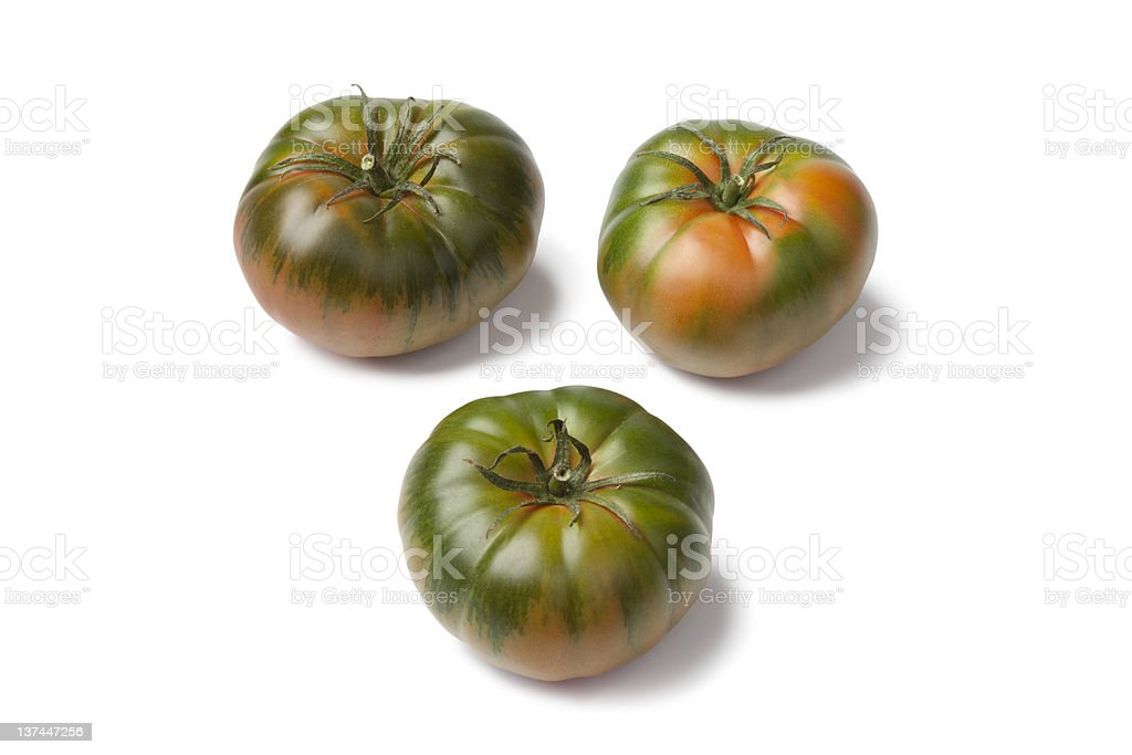 RAF heirloom tomatoes royalty-free stock photo