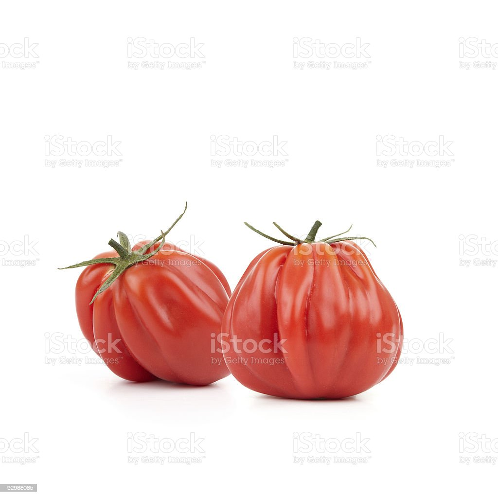Heirloom Tomatoes (XXL) royalty-free stock photo