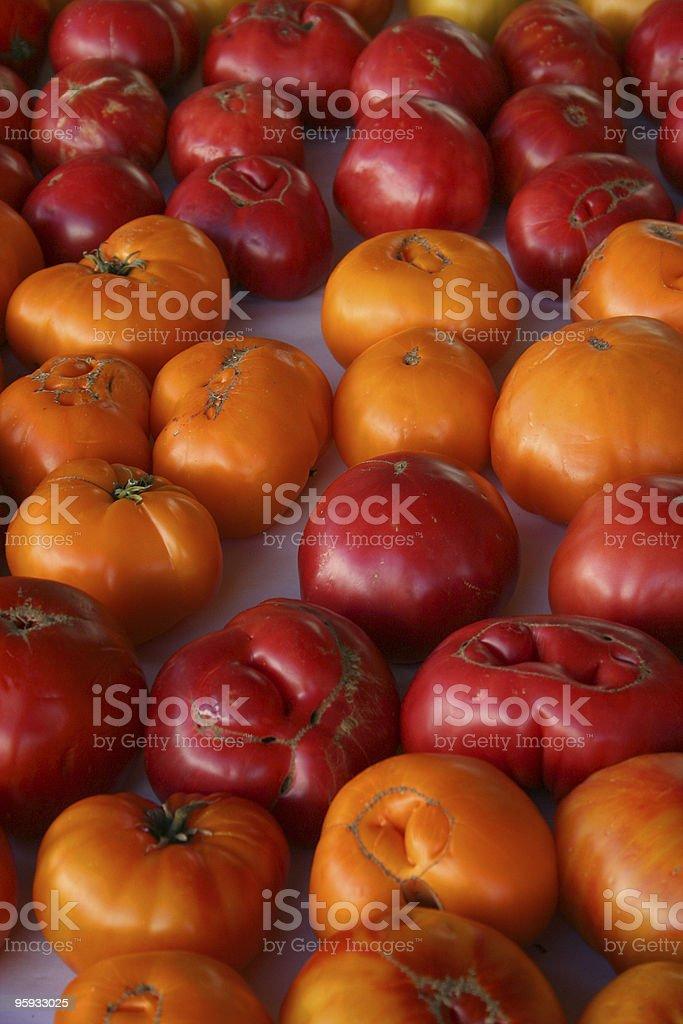 Emincé de tomates photo libre de droits