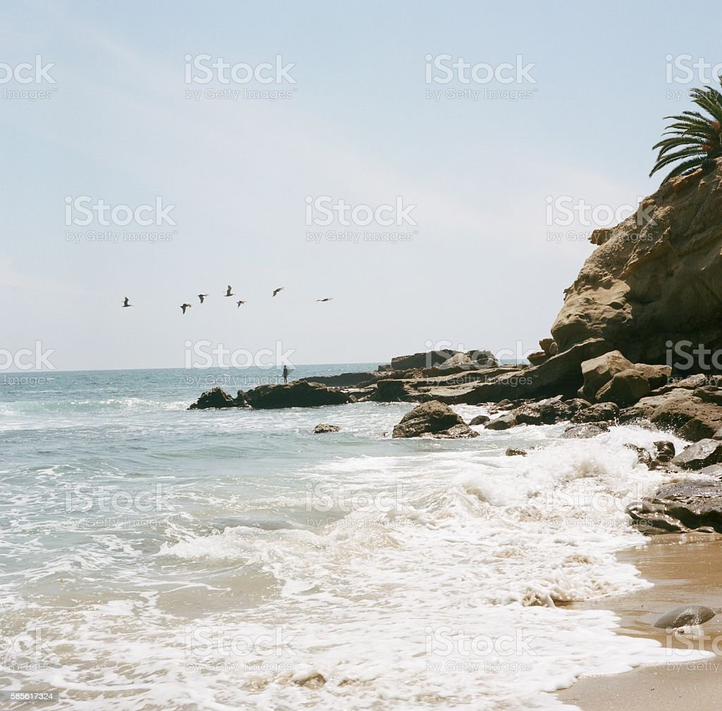 Heisler Park stock photo