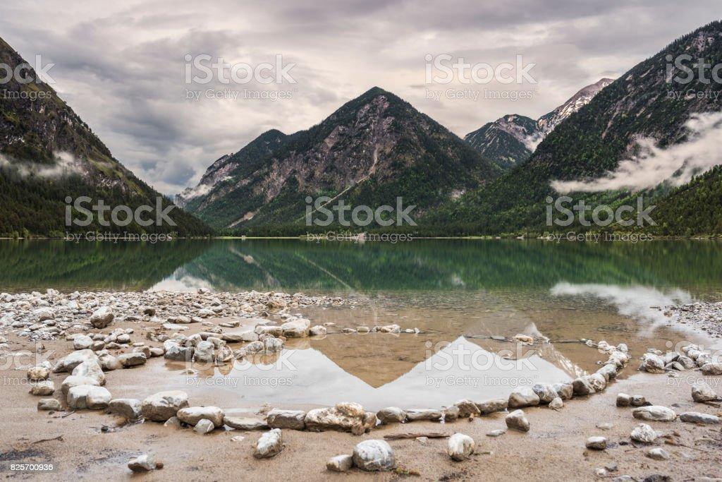 Heiterwanger Lake stock photo