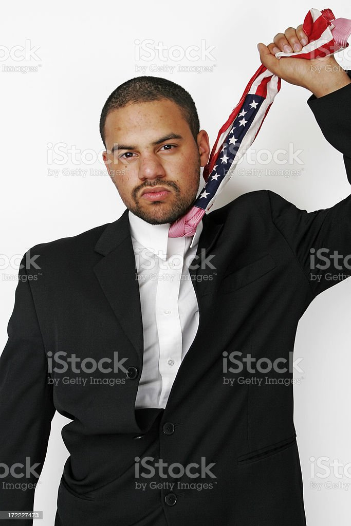 Held Down By the Man royalty-free stock photo